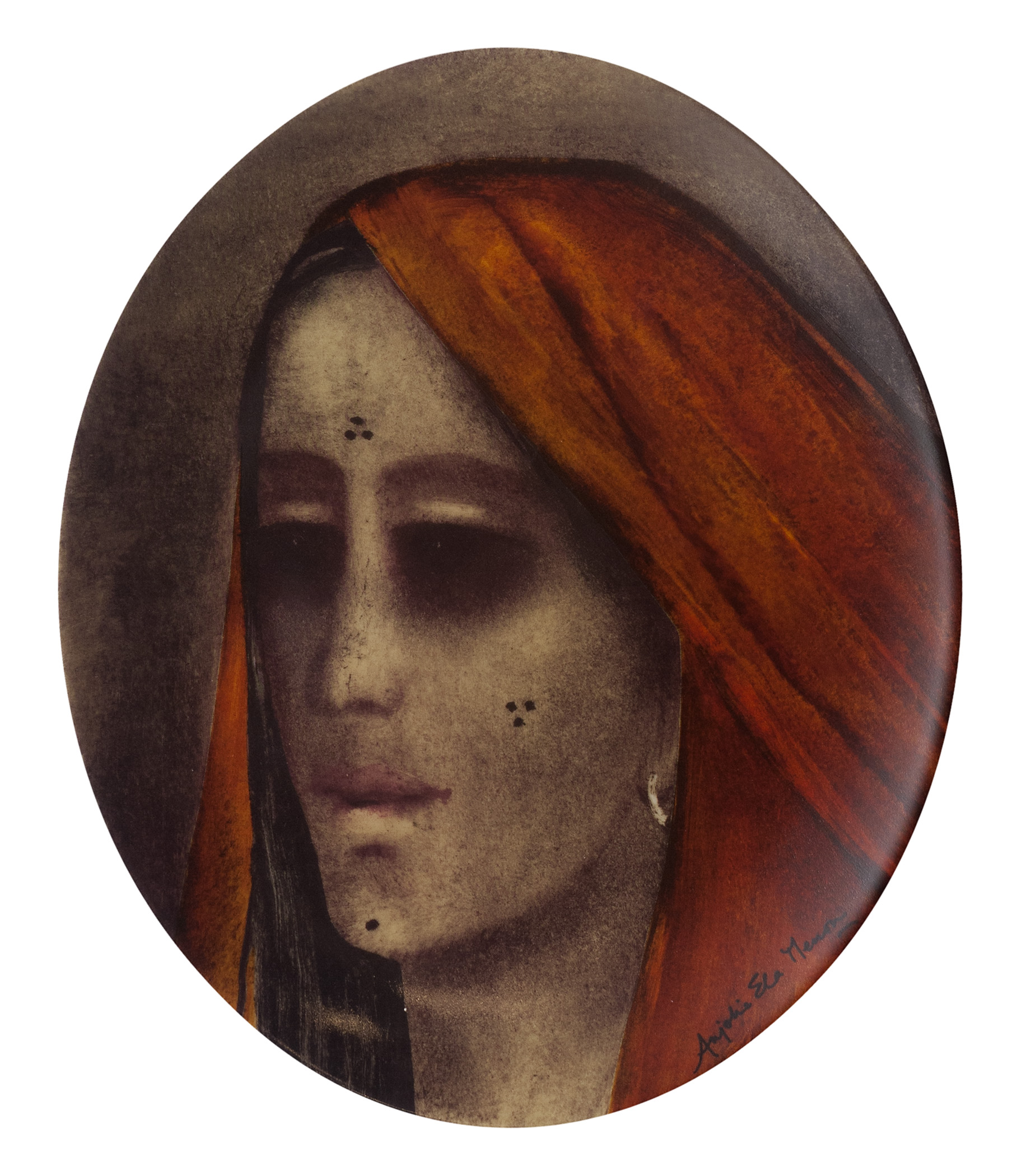 Anjolie Ela Menon, Ceramic Platter, Limited Edition of 50