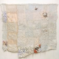 Smriti Dixit, Ivory Quilt, Mixed Media On Canvas, 96'' X 96'', 2012
